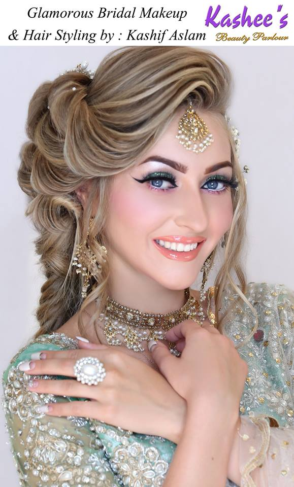 Kashee's Artist Beautiful Hairstyle Salon Makeup On Eid Festival