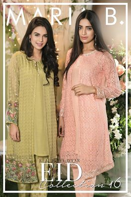MARIA B Eid Outfits For Women 2106