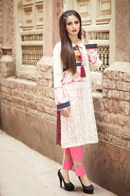 Zahra Ahmad New Stylish Dresses Chiffon & Lawn Gown