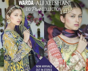WARDA Eid Pret Collection By Ali Xeeshan