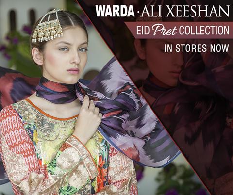 WARDA Eid Pret Collection By Ali Xeeshan