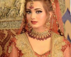 KASHEES Beautiful Bridal Hairstyle & Bridal Makeup