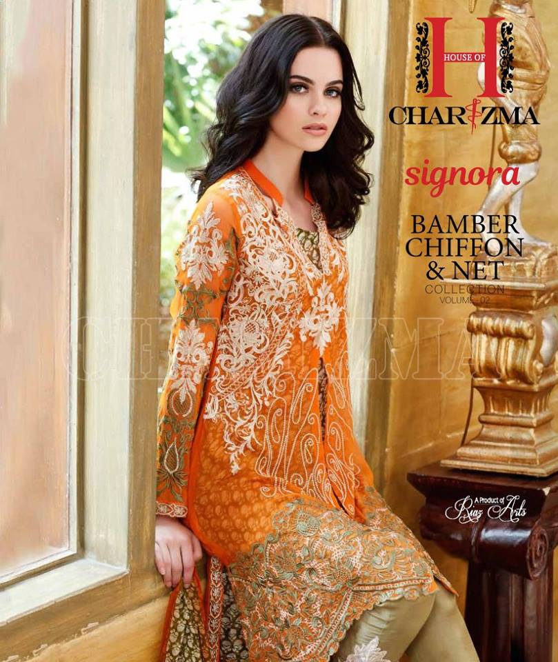 Charizma Signora Chiffon Dress Collection Vol-2