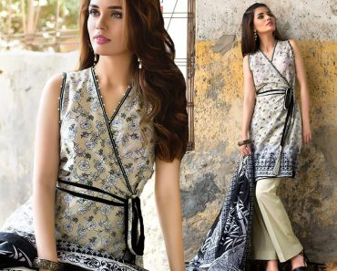 Gul Ahmed Fall 2016 Unstitched Embroidered Chiffon
