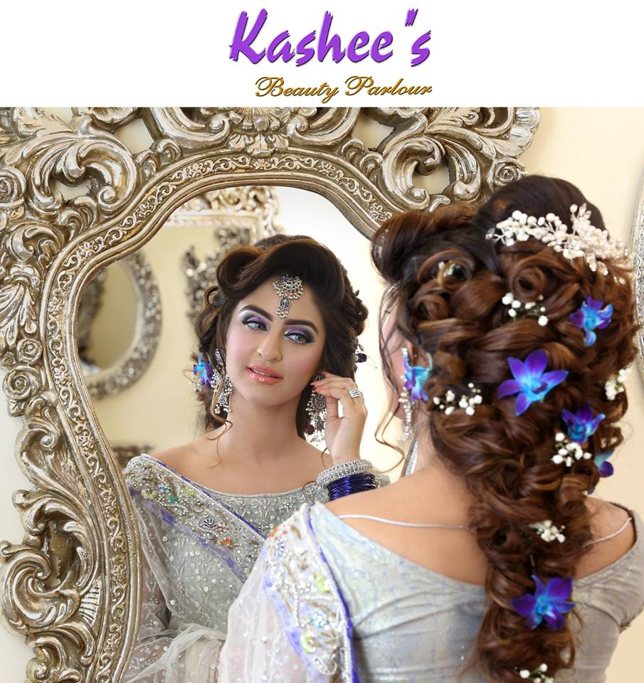 Wedding Hairstyle And Makeup: Kashee Beautiful Bridal Makeup Tutorial