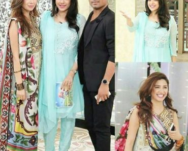 Sanam Jung & Adnan Ansari On Set Of Jago Pakistan Morning Show