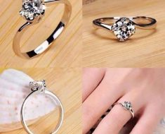 Tiffany Cut Engagement Rings- Gold Jewelry