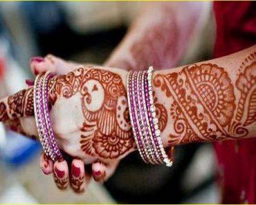 Beautiful Wedding Walima Mehndi Designs For Bridal
