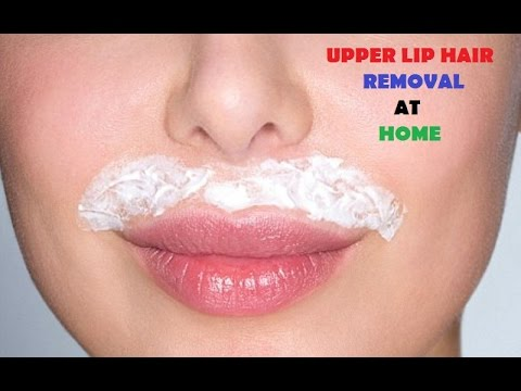 HOW TO REMOVE UPPER LIP HAIR By EASY NATURAL WAY