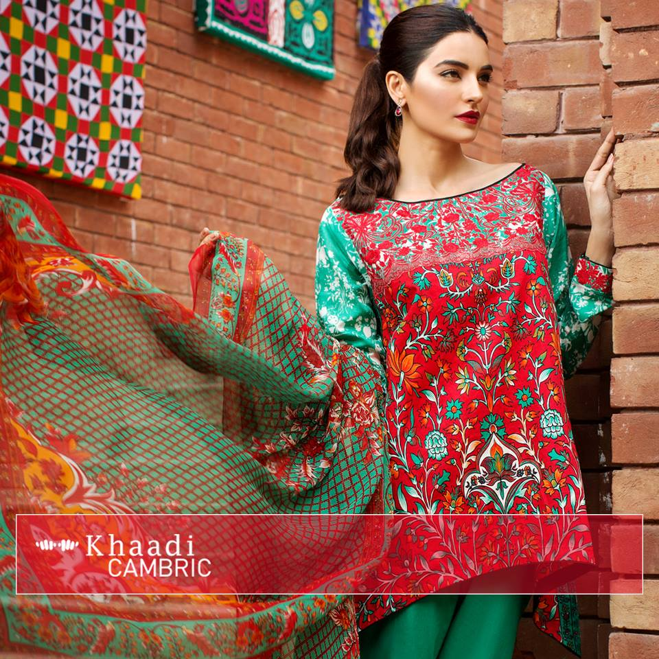 Birthday Dress Collection: Khaadi Latest Party Wear & Walima Dress Collection 2017