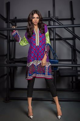 Sana Safinaz Ready To Wear Fall Winter Latest Dress Collection 2016