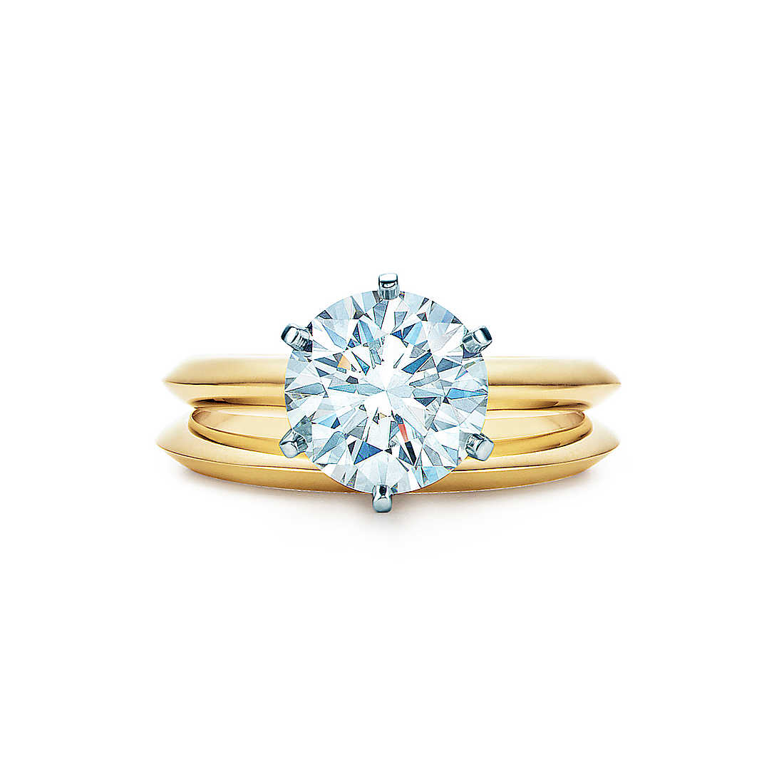 Tiffany Cut Engagement Rings- Gold Jewelry (4)