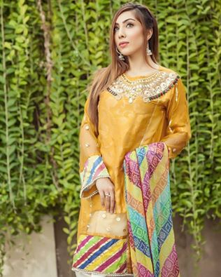 Zahra Ahmad luxury Party Wear Organza Dress Collection 2017