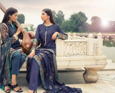 Al Karam Linen Dress Winter Collection Party Wear Clothe 2016
