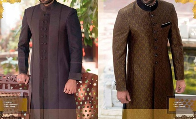 Junaid Jamshed Pakistani Sherwani Designs 2016 For Groom