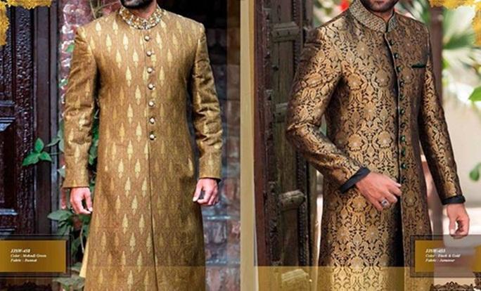 Junaid Jamshed Pakistani Sherwani Designs 2016 For Groom