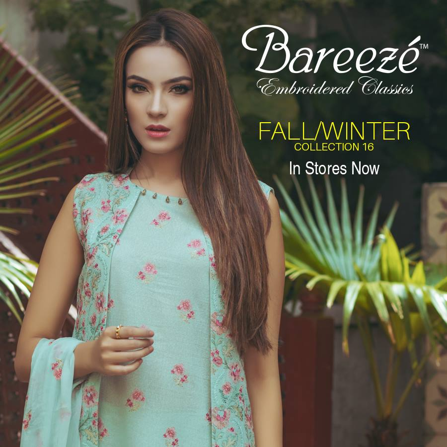 Bareeze Fall Winter Fancy Wear Collection 2017