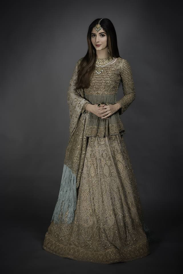 Hsy latest bridal couture luxury fashion dress 2017 for Couture garments