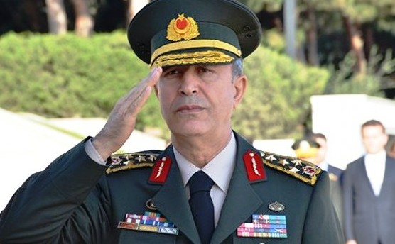 Turkey's Chief of Staff Hulusi