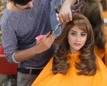 Kashees Beautiful Bridal Hairstyle Makeup Beauty Parlour