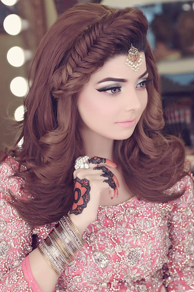 new haire style kashee s bridal makeup amp hairstyle fashion world 5413