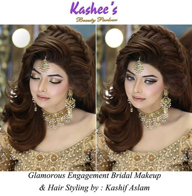Kashees Makeup Beautiful Bridal Makeup Hairstyle