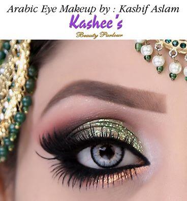 Kashee's Beautiful Soft Eye Makeup