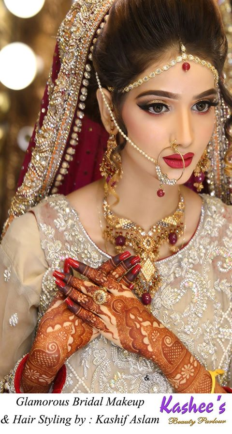 hair style make kashee s parlour bridal make up 9205