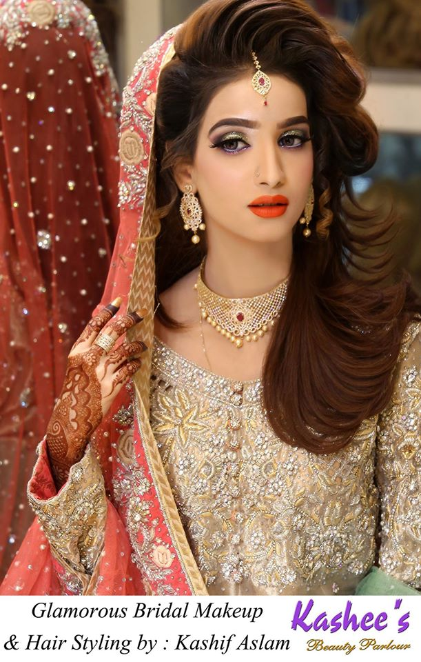 beautiful style hair kashee s parlour bridal make up 3797