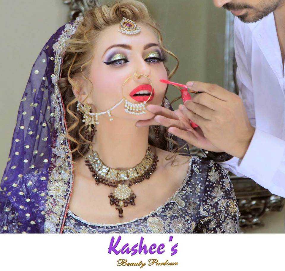 Beautiful Sehrish Fatima With perfect Styling In Kashees Makeover & Dress| Kashee's Beauty Parlour