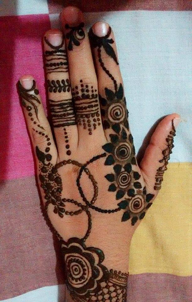 Latest Bridal Full Hand And Feet Mehandi Design 2017