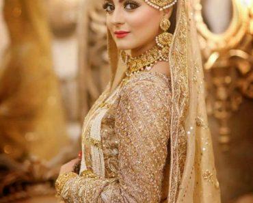 Pakistani Bridal Wear Frock And Lehenga Choli Dress Designs