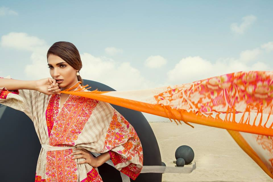Sana Safinaz Fall Winter Slub cotton Collection 2016