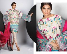 Sana Safinaz Fall Winter Slub cotton Collection 2017