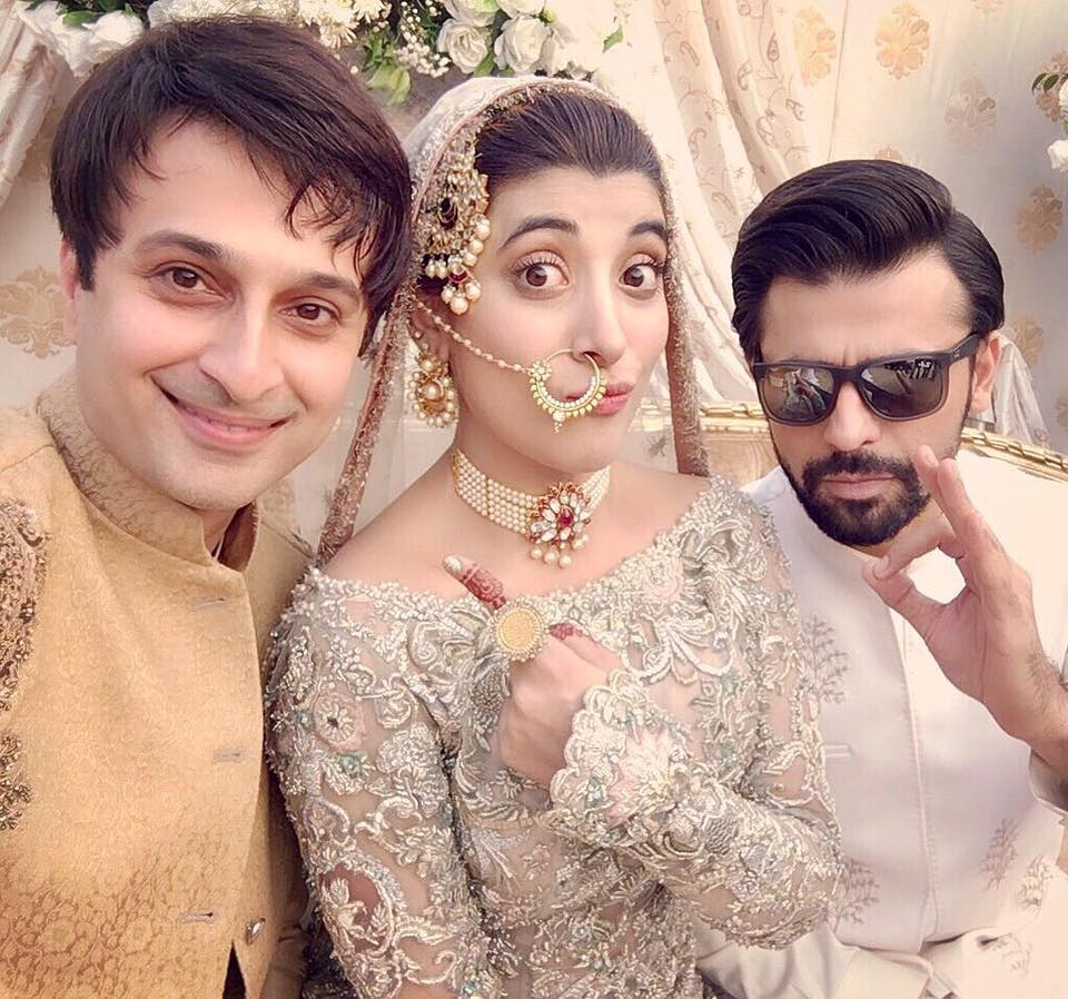 Urwa Hocane Farhan Saeed Wedding ReceptionWedding Ceremony