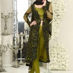 Asim Jofa Wedding Wear Bridal Silk & Chiffon New Dress 2017