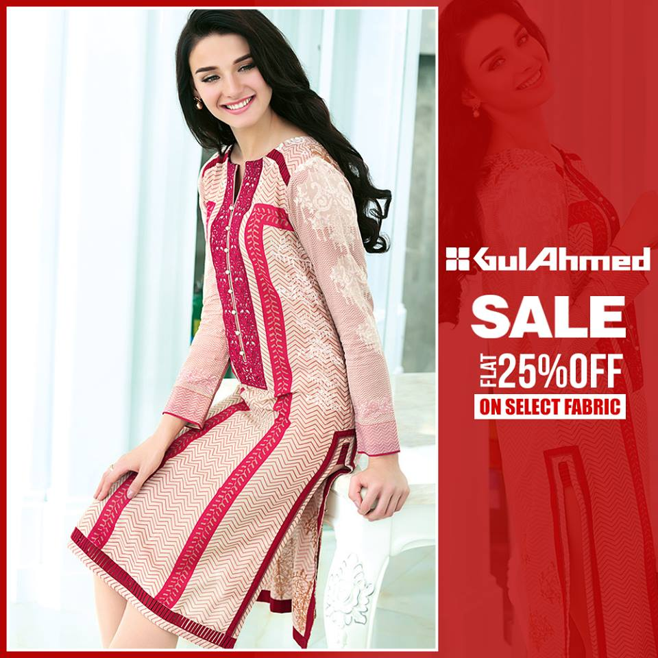 377d2bfeb2 Gul Ahmad Winter Collection 2017 Sale
