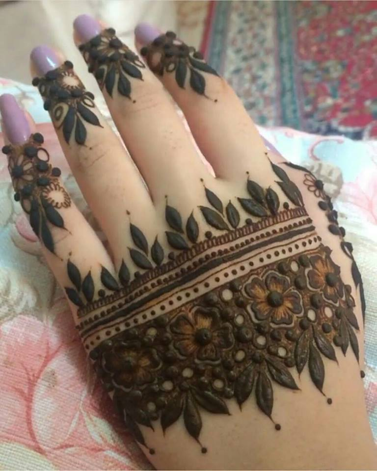 Beautiful Henna Designs For Pakistani Girls Amp Women 2017