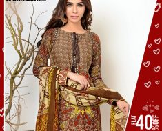 Gul Ahmed SpringSummer Premium Collection 2017-Original Lawn