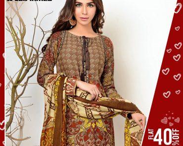 Gul Ahmed SpringSummer Premium Collection 2017-Original Lawn