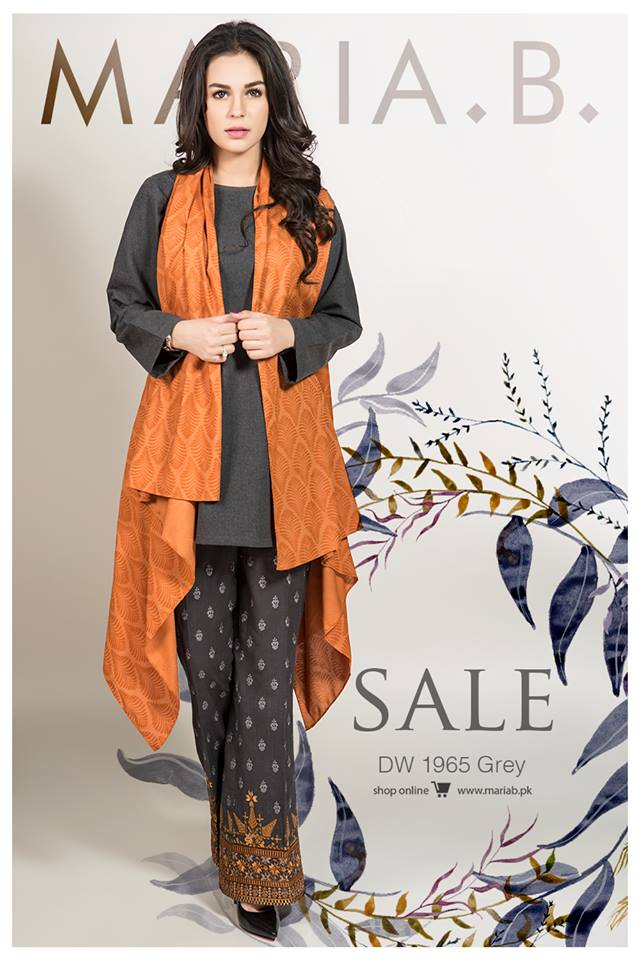 Maria B SpringSummer Linen Sale 2017 Latest Designs