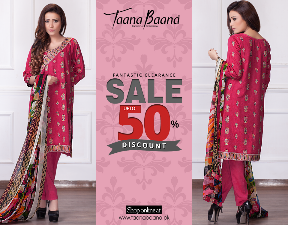 Taana Baana Spring Summer Lawn Dresses Collection 2017