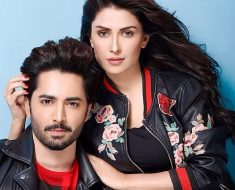 Zahid Ahmed & Ayeza Khan on the Sets of Their upcoming Drama 'Tau Dil Ka Kiya Huwa'