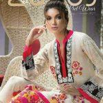 Latest Pakistani Lawn Dresses By Lala Textile 2017