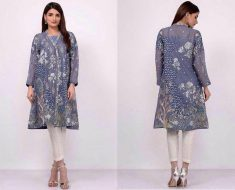 Latest Pakistani Lawn Dresses By Lala Textile 2017