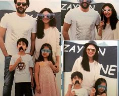 Recent Clicks For Marshall with Her Family