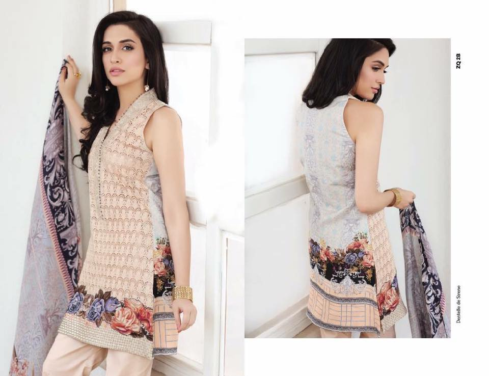 Zarqaash Summer Lawn Collection 2017