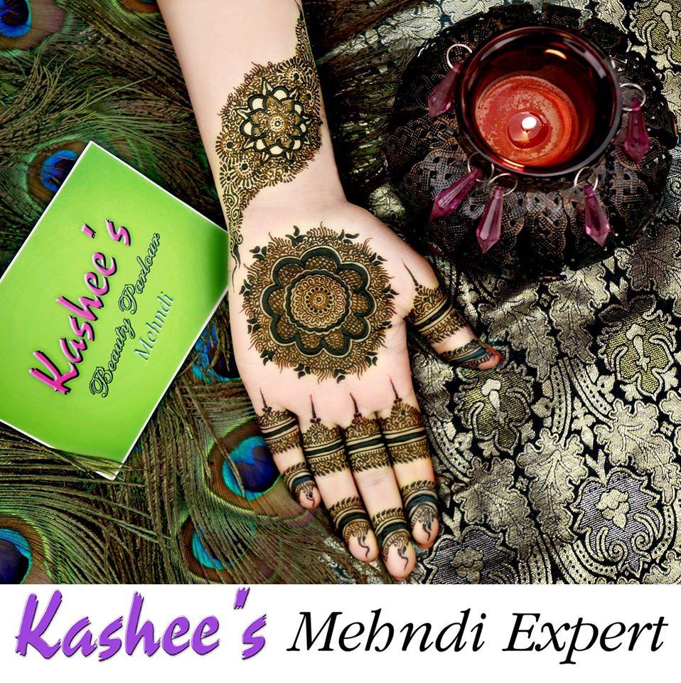 Kashee Beauty Parlour Mehendi Designs