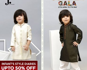 Junaid Jamshed Summer Gala Kids Collection 2017