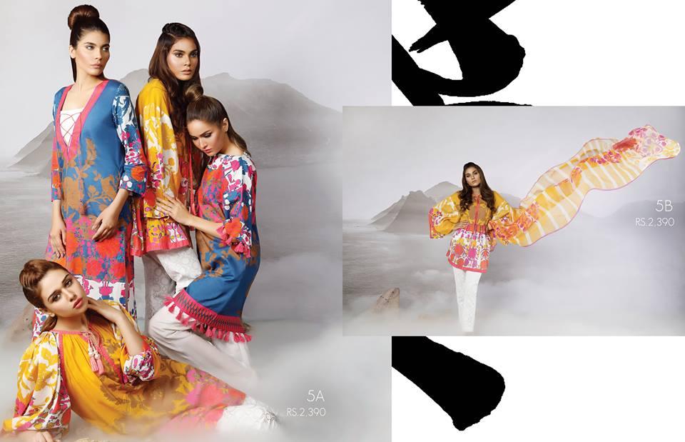 Sana Safinaz Eid Lawn Collection 2017